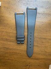 Patek Philippe 22x14 watch strap Gray Satin Lady 24