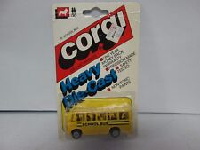 Vintage Corgi Heavy Die-cast School Bus