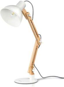 LED Schreibtischlampe Leselampe Tischleuchte verstellbar, mit Glühbirne, EKK A++