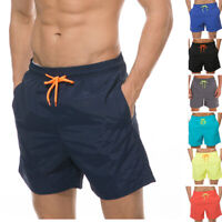 Beach Shorts Mens Quick Dry Swim Trunks with Mesh Lining & Pockets Swimsuit 4XL