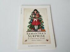 Samantha's Surprise Christmas Story Maxine Rose Schur 1986 Scholastic Paperback
