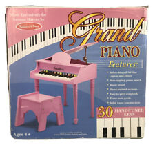 Melissa And Doug 30-Key Mini Grand Piano Neiman Marcus Logo Pink Extremely Rare