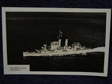 Old RPPC USS ALBANY Guided Missile Cruiser US Navy CA123/CG10 USN Photo Postcard