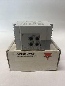 NEW Carlo Gavazzi DPC01DM69 Monitoring Relay 3 Phase