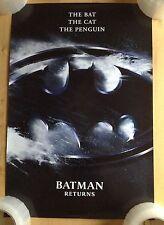 4 - BATMAN RETURNS Movie Posters - Mini Size 13.25 x 19.50 GREAT CONDITION!