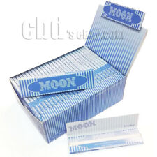 60 Booklets Moon Blue Cigarette Rolling Papers King Size 108*45mm 1920 leaves