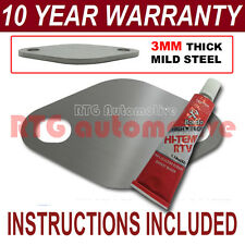 VOLVO S70 V70 S80 2.5 D DIESEL EGR BLANK PLATE 3MM THICK STEEL ND SEALANT