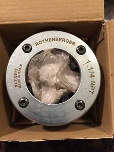 """ROTHENBERGER 70915 Threading Dies,1-1/4"""",NPT"""