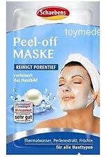 SCHAEBENS Peel-Off Maske Reinigt porentief +verfeinert 15 ml Gesichtsmaske Creme