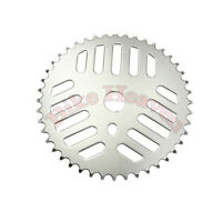 44 Teeth  BMX Bicycle Chainring Sprocket Chrome Beach MTB Lowrider Chopper