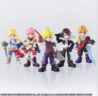 Set of 5 pcs Final Fantasy Cloud Squall Tidus PVC Figures collectible Toy no box