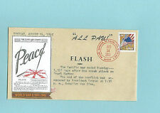 WWII FDC Hawaii Pearl Harbor Attack 68th Anniversary * ALL PAU * Sc 4766