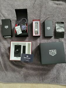 Tag Heuer Connected 2020 Smartwatch 3rd Gen with SS strap.