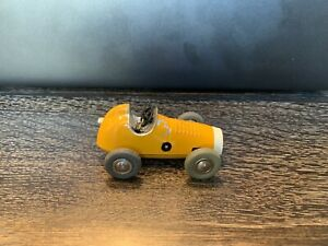 Vintage Schuco 1042 Micro Racer Yellow #3/Excellent working condition!