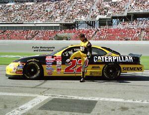 WARD BURTON CATERPILLAR #22 PONTIAC AT DAYTONA 1999 11X14 PHOTO NASCAR