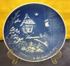 1983 Bing & Grondahl Christmas Plate Christmas In The Old Town Denmark W Box