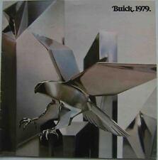 Buick Riviera Electra LeSabre Century Regal Skylark Skyhawk 1979 USA Brochure