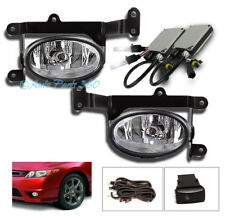 FOR 06 07 08 HONDA CIVIC 2DR BUMPER DRIVING FOG LIGHTS LAMP+8000K HID KIT+SWITCH