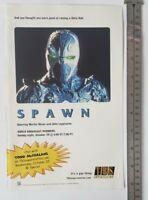 Spawn The Movie RARE Print Advertisement