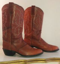 Mens Abilene Cowboy Boots 10D 6588 Brown Cognac Only Worn A Couple Times