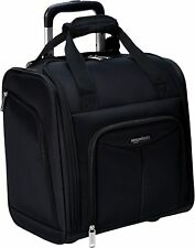 Amazon Basics Underseat, Carry-On Rolling Travel Luggage Bag w Wheels 14