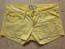STRADIVARIUS Shorts Hot Pants Jeans Hose M / 38-40 gelb