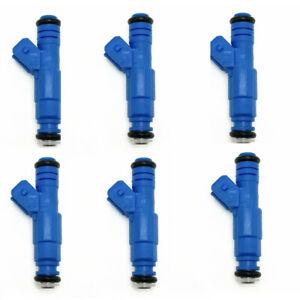 4* EV1 Fuel Injectors for Merkur Ford Lincoln 2.9 3.0 3.8 V6 Upgrade 0280150727