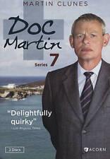 Doc Martin: Series 7 (DVD, 2015, 2-Disc Set) Martin Clunes ACORN Like New