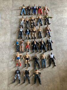 WWE WWF 29 Action Figures Lot Jakks Pacific 2000-2002