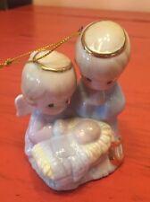Precious Moments Manger Scene Ornament 1997