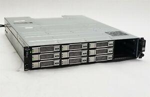 Dell EqualLogic PS4100 Array w/2*Control Module 12 + 2*700W PSU + 9*3TB SAS HDD