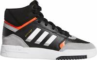 adidas Drop Step Scarpa Core Black DROP STEP CORE Basket Junior alta pelle suede