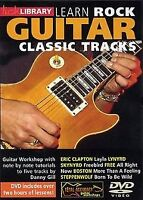 Lick Library: Learn To Play Rock Guitar Classic Tracks Guitar DVD