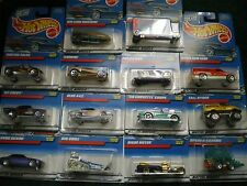 Hot Wheels 1998 Collectors Numbers Mixed Lot of 14 Pontiac Chevy Dodge and more