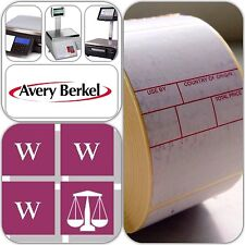 Avery Berkel Thermal Scale Labels - Format 3, 49 x 75mm, 12 Rolls, 6,000 Labels