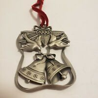 1999 Avon Pewter Christmas Ornament 'Season of Peace'