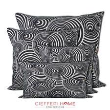 CIRCLES Federa fodera copricuscino arredo - Cieffepi Home Collections