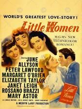 ADVERT MOVIE FILM LITTLE WOMEN TAYLOR LEIGH LAWFORD ART PRINT POSTER BB7524