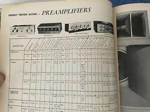1965 Audio Magazine Annual directory featuring Marantz 10b MCINTOSH Fisher Scott