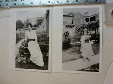 Vintage Photo-2 Photos Sweitzer Album 1112 Linden 11/1914 Allentown PA 1993 #2