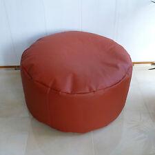 Sitzhocker/Bodenkissen/Kunstlederf/echte EPS Perlen/In-Outdoor geeignet