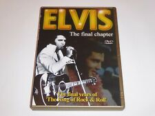 Elvis Presley: The Final Chapter - GENUINE UK DVD - EXC CONDIT - Final Years Of