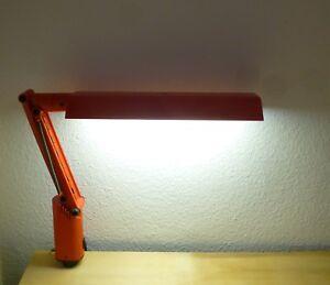 Lucifer Schreibtischlampe Kunststoff Neon Lampe Pop Art Fagerhult Schweden 1975