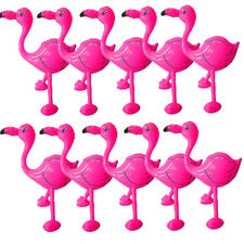 Inflatable 55cm Pink Flamingo Tropical Hawaiian Beach Party Decoration Prop Item