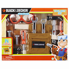 Bench For Kids Workbench Toddler Play Set For Kids 14 Piece Toy Tool Kit Gift