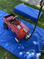 PEDAL CAR Super Custom  Wagon Handle Hot Rod Street Car  Hand Made One Of A Kind