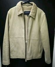 MENS WILSON LEATHER Pelle Studio Lined Leather Jacket Size Small