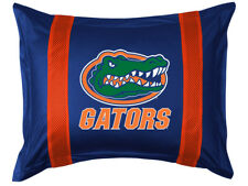 Sports Coverage Sidelines FLORIDA GATORS Valance Sham Pillow Cases NCAA College