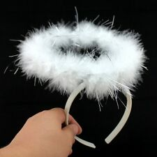 Feather Angel Fairy Wing Angel Halo Headband Halloween Party Costume Fancy Dress