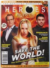 SAVE THE WORLD! Jan/Feb 2016 HEORES REBORN Magazine #2  100 Page Issue